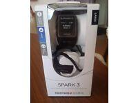Brand New TomTom Spark 3 GPS Fitness Activity Watch + Music +Bluetooth Headphones + 2 Year Guarantee