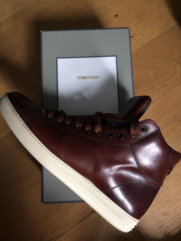 244e4e711d8 TOM FORD Hightop Leather Shoes Men Size 10/11 | in Brighton, East Sussex |  Gumtree