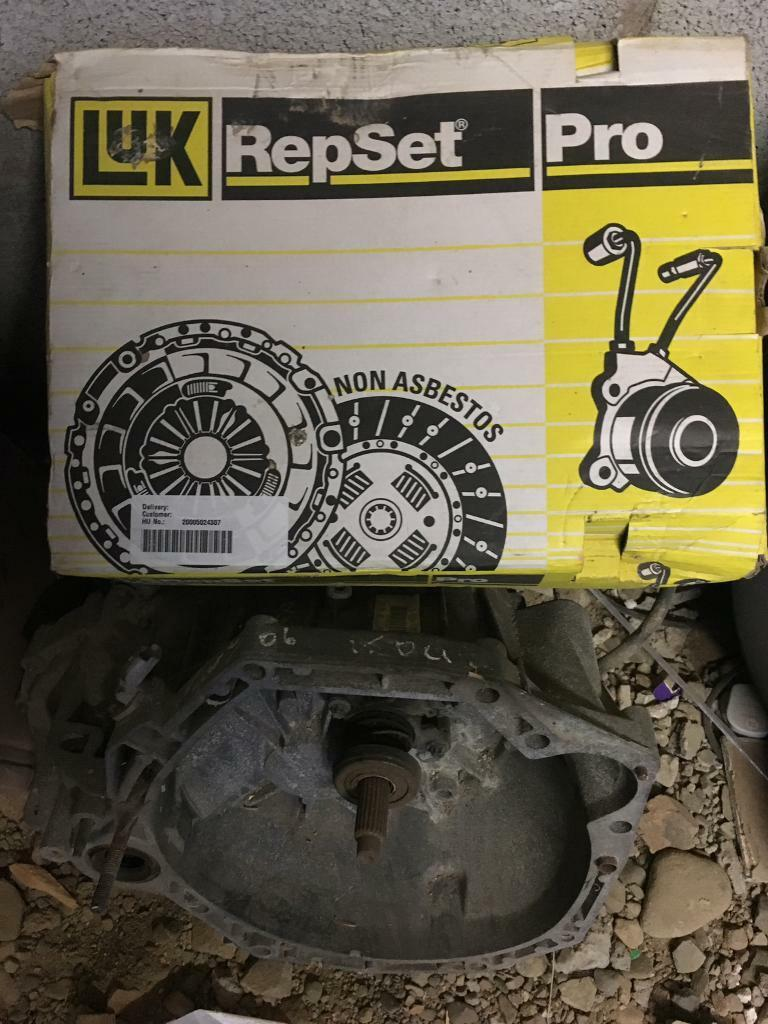 Clutch Kit and Gearbox for Renault Senic