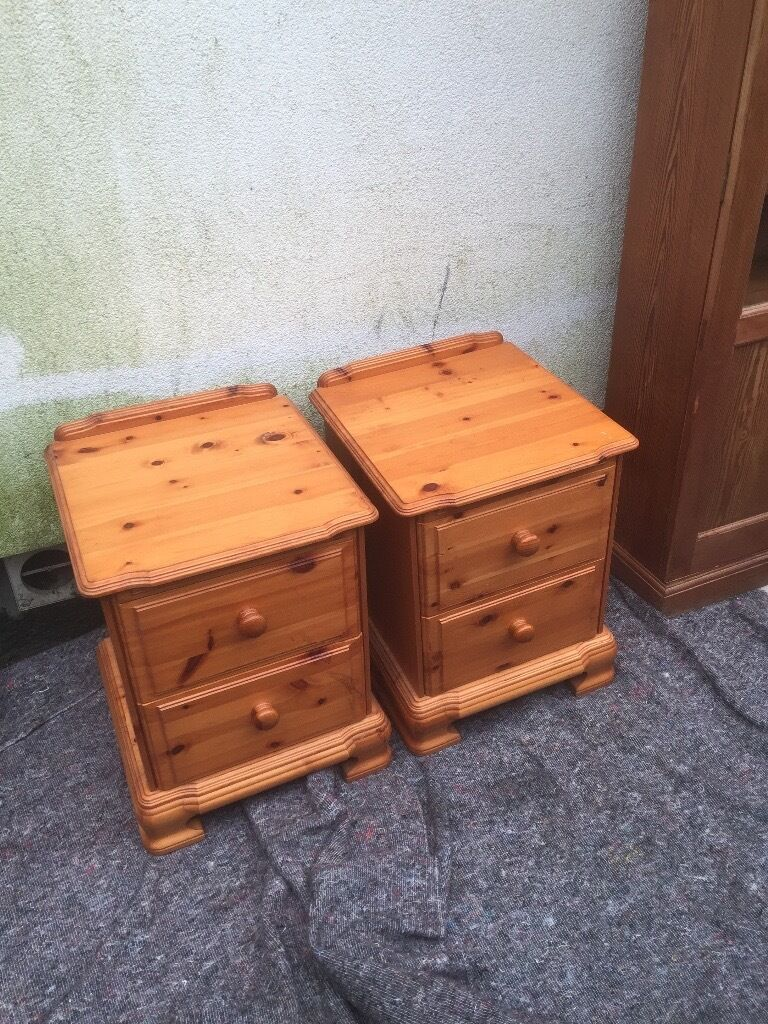 For Sale solid pine bedside cabinets in Potters Bar  : 86 from www.gumtree.com size 768 x 1024 jpeg 200kB