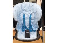 Blue Chicco Highchair FOR SALE