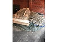 FREE Topsoil, Crushed Concrete and paved edgings