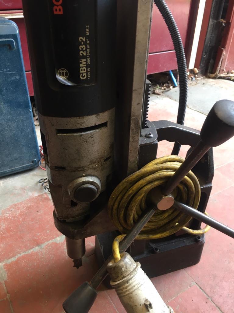 Bosch GBM 23-2 heavy duty professional drill 110v