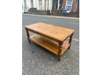 Solid pine high quality ducal coffee table
