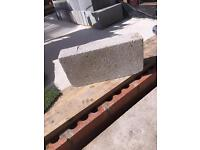 290 solid concrete blocks