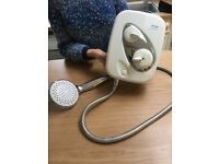 Triton thermostatic power shower - Great condition!