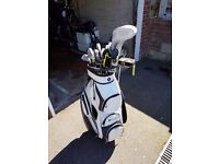 Various Golf Equipment sold separate or as a set