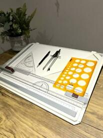 Rotring College Drawing Board Size A3 + utensils