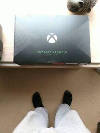 xbox one X prodject scorpio