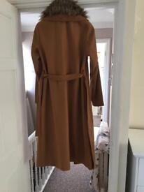 Tanned coat