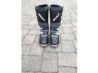 WULF trials bike boots size 4.5 uk