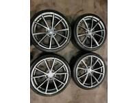 """Audi 19"""" alloy wheels."""