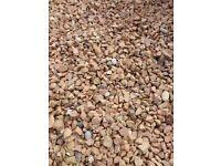 FREE red chuckies/stones/gravel