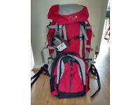 70l litre rucksack with deatchable 15 litre daysack