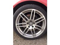 19 inch alloys and tyres