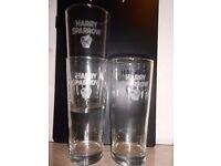 3 x Aspall Cider Glasses 1 pint