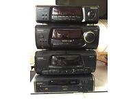 Technics SA-EH60 Amplifier Tuner Tape Deck CD Player