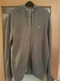 LACOSTE vintage washed hoodie size 4