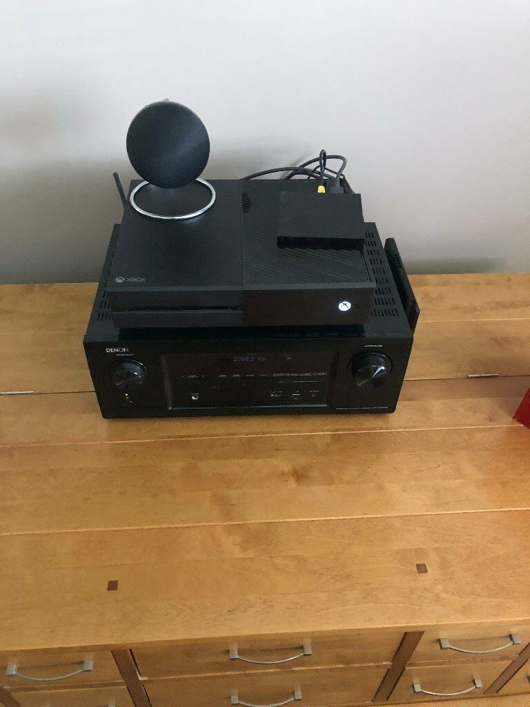 Xbox One 4 Games Tv Tuner Great Condition In Original Box In