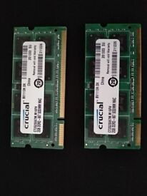4GB DDR2 Laptop RAM (667Mhz)