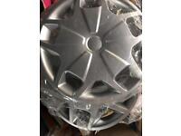 Transit mk8 custom 15 inch wheel trims x4
