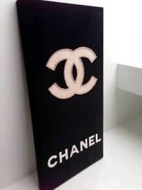 Unique Luxury canvas - handmade