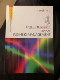 Higher Business Management Study Guide (BrightRED)
