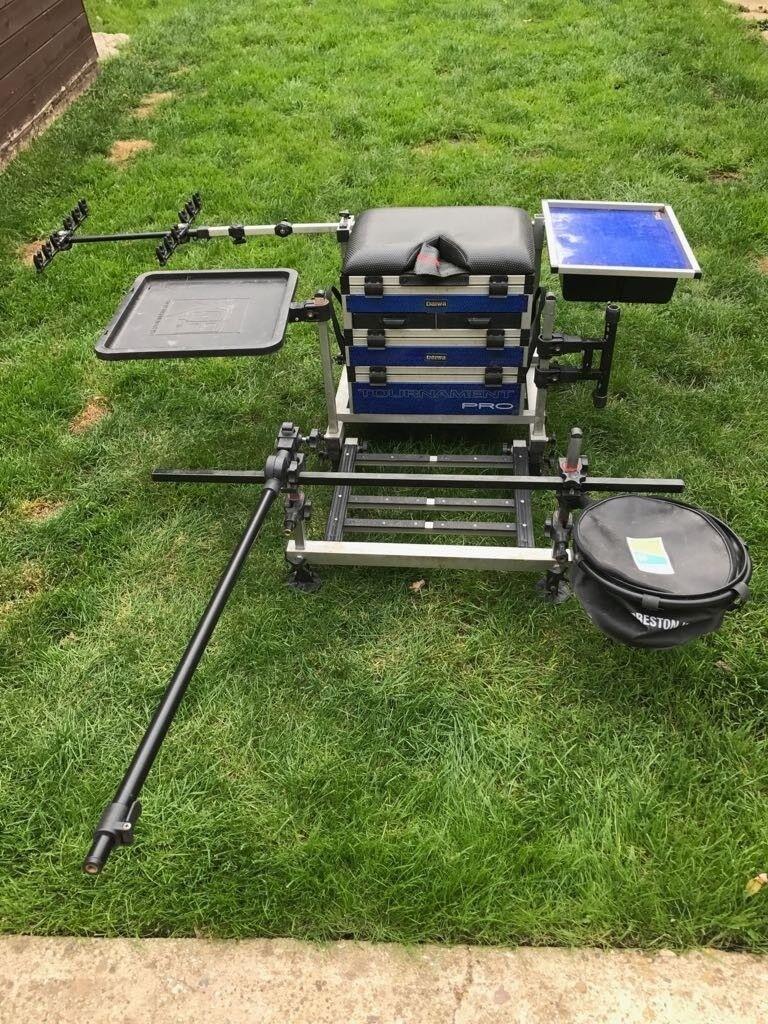 Diawa tournament pro seat box plus modulator seat box