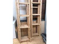 Ikea Ivar Shelving for stockroom or warehouse