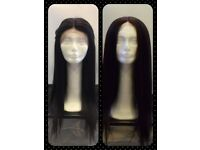 Beautiful Synthetic Lace Front Wig - Black Brown