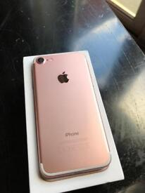 iPhone 7 128gb Rose gold and other colours available LIKE NEW