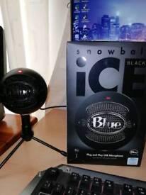 Blue snow Ball mic