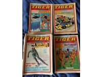Tiger and Scorcher comics - 1980 - used condition