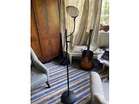Microphone Stand & Pop Filter - Heavy Duty