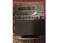 CD Player & Microphone monitor (All in One Karaoke Set)