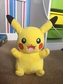 My friend pikachu plush