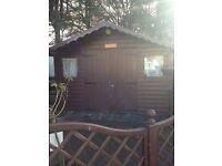 Summerhouse shed