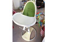Lime green Fresco Bloom high chair