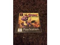 PlayStation 1 boxed spyro the dragon game. Ps1