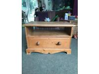Solid Pine TV unit stand
