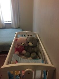 Excellent condition baby cot for sale