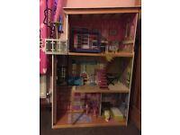 Large Barbie dolls house