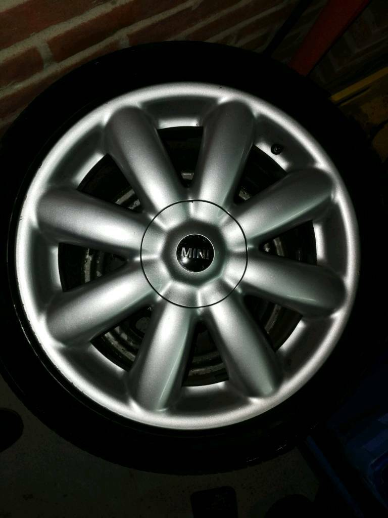 4X100 Mini Cooper alloys