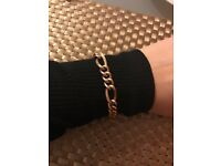 Gold bracelet men/women