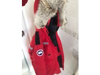 Canada Goose Resolute Parka 2XS Red (RRP £1100) - Authentic