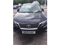 Blue Lexus RX450 - No time wasters please