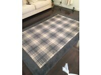 Grey & Cream large rug