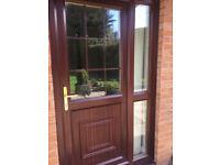 External Back Door & Side Panel