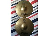 Zildjian Z Custom Hi Hats 13''
