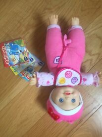Vtech little love baby doll and accessories